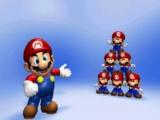 Laat Mario zijn collectie speelgoed net als Lemmings veilig naar de speelgoedkoffer begeleiden.