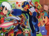 Mega Man Battle Network 4 Red Sun: Afbeelding met speelbare characters