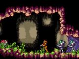 In een vochtige grot houdt zich een organisme schuil dat besmet werd door een X parasiet.