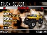 Kies de <a href = http://www.mariogba.nl/gameboy-advance-spel-info.php?t=Monster_Trucks target = _blank>monster truck</a> die het best bij je past.