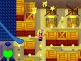 Het klassieke spel <a href = http://www.mariogba.nl/gameboy-advance-spel-info.php?t=Pac-Man target = _blank>Pac-Man</a> werd in een nieuw en origineel jasje gegoten.