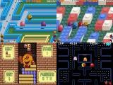 Speel verschillende <a href = http://www.mariogba.nl/gameboy-advance-spel-info.php?t=Pac-Man_Special_Color_Edition target = _blank>Pac Man</a> spellen.