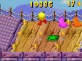 De spookjes zijn gelukkig ook nog steeds van de partij! Rennen, <a href = http://www.mariogba.nl/gameboy-advance-spel-info.php?t=Pac-Man target = _blank>Pac-Man</a>!