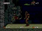 Naast jungles bevat dit spel ook tempels vol gevaren.