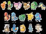 In plaats van trainers speel je dit keer als één van deze Pokémon!