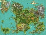 Een map van alle locaties die jij kan bezoeken in deze Pokémon-game.