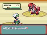 De legendarische pokemon Groudon waar het spel om draait!