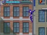 De blauwe ranger is niet bang van hoogtes en springt van een flatgebouw naar beneden.