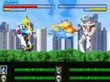 De Megazord gevechten zijn natuurlijk niet weg te denken uit een Power Rangers spel.