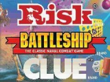 Drie legendarische boardgames voor de prijs van één: Risk, Zeeslag en Cluedo.
