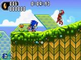 Sonic Advance 2: Afbeelding met speelbare characters