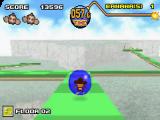 Navigeer je personage in een bal doorheen de verschillende levels.