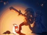 Gebruik je lamp verstandig Link, hij werkt op magie!