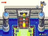 In het kasteel moeten Link en Zelda een zwaard afleveren.