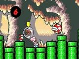 Zorg dat je baby Mario niet kwijt raakt. Want als de teller op 0 staat moet je het level opnieuw spelen