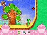 Door de volledige achtergrond te kantelen, laat je Yoshi muren opwandelen!