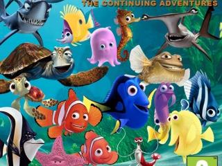 2 Games in 1: Finding Nemo + Finding Nemo: The Continuing Adventures: Afbeelding met speelbare characters