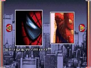 Makkelijk 2 in 1, kies je spel en slinger door de straten als <a href = https://www.mariogba.nl/gameboy-advance-spel-info.php?t=Spider-Man target = _blank>Spider-man</a>!