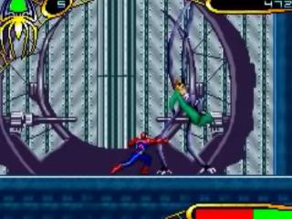 In <a href = https://www.mariogba.nl/gameboy-advance-spel-info.php?t=Spider-Man_2 target = _blank>Spiderman 2</a> is je gevaarlijkste tegenstander Dr. Octopus.