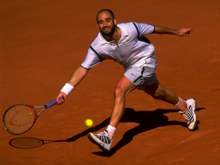 Met in de hoofdrol: Andre Agassi.