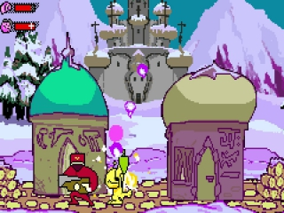 Dit spel heeft mooie cartoon-achtige graphics.