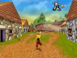 Hoewel 3D niet ondersteund wordt op de <a href = https://www.mariogba.nl/gameboy-advance-spel-info.php?t=Game_Boy_Advance target = _blank>Gameboy Advance</a> wordt er toch een mooie simulatie gemaakt.