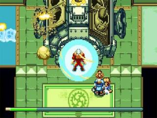 Via deze gigantische machine ondergaat Aang een transformatie.