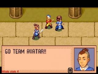 Speel met Aang, <a href = https://www.mariogba.nl/gameboy-advance-spel-info.php?t=Catz target = _blank>Kat</a>ara en Sokka!