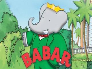 Speel als Babar, de echte koning van de jungle.