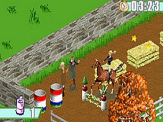 Barbie Horse Adventures The Big Race: Screenshot