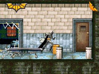 Batman is op zoek naar het dichtstbijzijnde toilet.