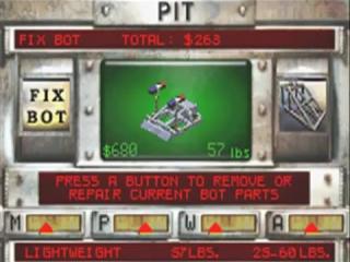 Na de wedstrijd is het belangrijk om je robot te herstellen voor het volgende gevecht.