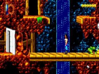Dit spel bevat naast actie ook platform elementen.