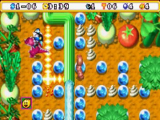 Bomberman Max 2 Blue Advance: Screenshot