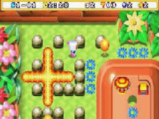 Bomberman Max 2 Blue Advance plaatjes