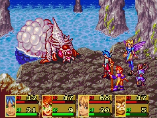 Breath of Fire II plaatjes