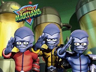 In deze leuke side-scroller speel je als een van de drie Butt-Ugly Martians.