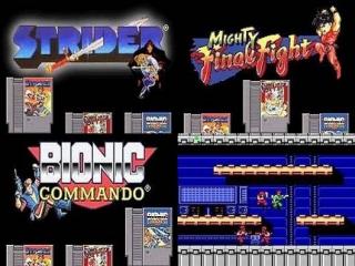 Dit spel bevat 3 Capcom klassiekers: Strider, <a href = https://www.mariogba.nl/gameboy-advance-spel-info.php?t=Final_Fight_One target = _blank>Final Fight</a> en Bionic Comando.