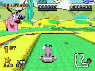 De game is een Kart racer zoals <a href = https://www.mariogba.nl/gameboy-advance-spel-info.php?t=Mario_Kart_Super_Circuit target = _blank>Mario Kart</a> maar met Cartoon Network personages!