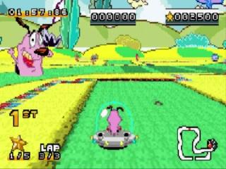 De game is een Kart racer zoals <a href = https://www.mariogba.nl/gameboy-advance-spel-info.php?t=Mario_Kart_Super_Circuit target = _blank>Mario Kart</a> maar met Cartoon Network personages!
