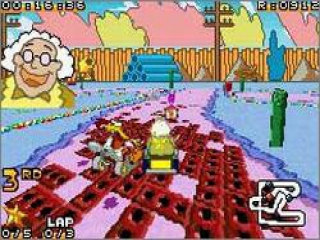 Race op vele banen gebaseerd op shows van Cartoon Network!