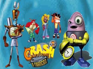 Speel in deze game als het videogame-icoon Crash Bandicoot!