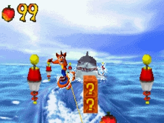 Crash Bandicoot 2 N-Tranced: Screenshot