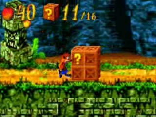 Crash Bandicoot XS: Screenshot