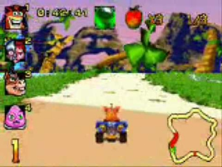 Crash Nitro Kart: Screenshot