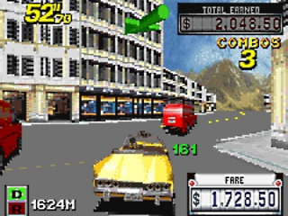 Crazy Taxi Catch a Ride: Screenshot