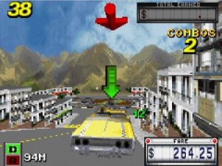 Crazy Taxi Catch a Ride plaatjes