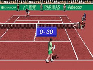 Davis Cup Tennis: Screenshot