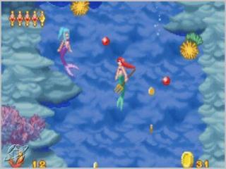 Zwem met Ariël diep in de zee.
