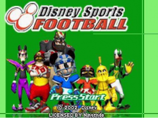 Te lang op de Gameboy gespeeld? Tijd om wat te sporten, met Disney Sports American Football!